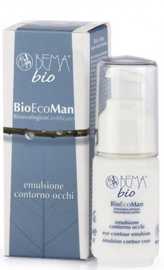 Эмульсия для контуров глаз - Bema Cosmetici BioEcoMan Emulsion for eyes and lips contour