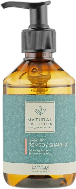 Шампунь себонормализующий - Emmebi Italia Natural Solution Sebum Remedy Shampoo