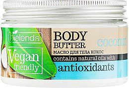 "Духи, Парфюмерия, косметика Масло для тела ""Кокос"" - Bielenda Vegan Friendly Body Butter Coconut"