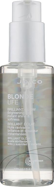 Масло для бриллиантового блеска - SR Blonde Life Brilliant Glow Oil