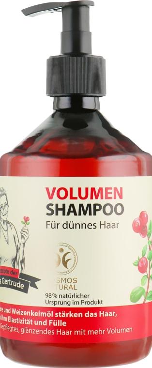 Шампунь для объема волос - Рецепты бабушки Гертруды