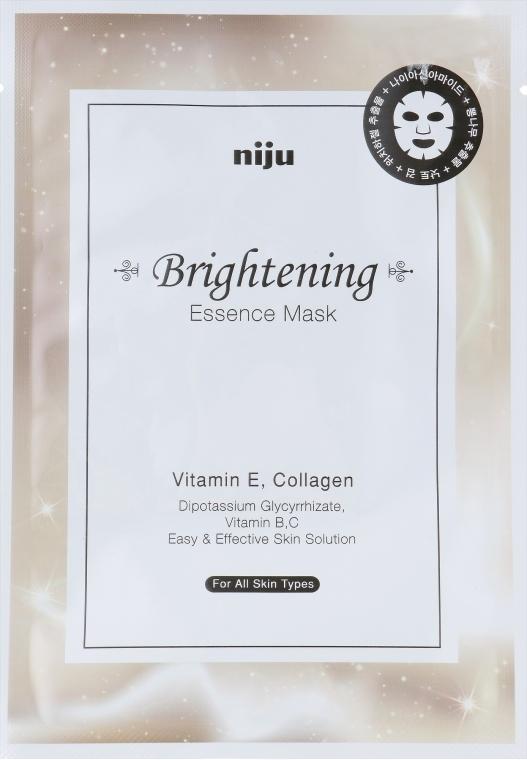 Маска для лица отбеливающая - Konad Niju Brightening Essence Mask
