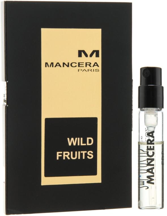 Mancera Wild Fruits - Парфюмированная вода (пробник)