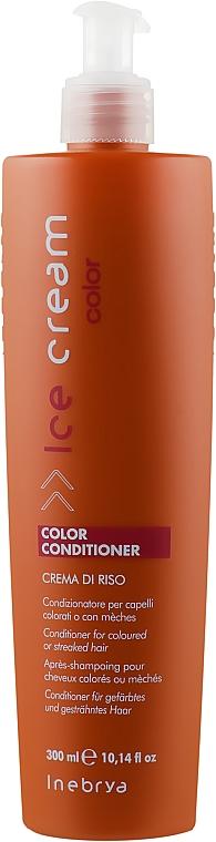 Кондиционер для окрашенных волос - Inebrya Ice Cream Color Conditionerk