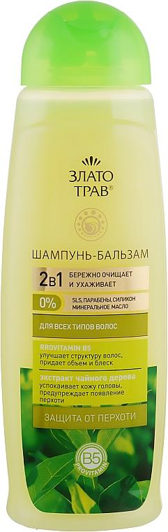 """Шампунь–бальзам """"Чайное дерево"""" - Velta Cosmetic Злато трав"""