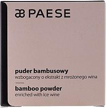 Духи, Парфюмерия, косметика Бамбуковая рассыпчатая пудра с протеинами шелка - Paese Bamboo Powder