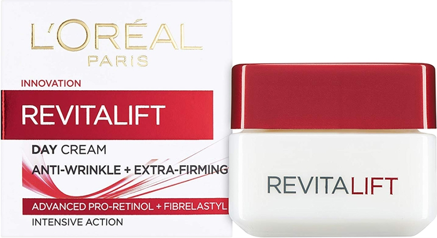 Крем для лица против морщин - L'Oreal Paris RevitaLift Anti-Wrinkle + Extra Firming Day Cream
