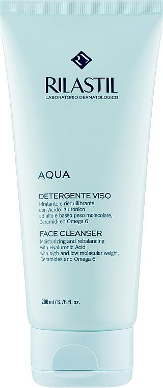 Деликатный очищающий гель для лица - Rilastil Aqua Detergente Viso