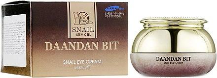 Питательный крем вокруг глаз с улиткой - Daandanbit Stem Cell Snail Eye Cream