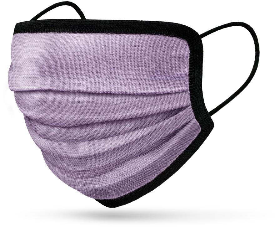 Многоразовая 6-слойная маска, сиреневая - RiMAR