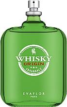 Духи, Парфюмерия, косметика Evaflor Whisky Origin - Туалетная вода (тестер без крышечки)