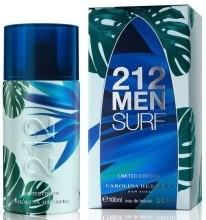 Духи, Парфюмерия, косметика Carolina Herrera 212 Surf Men - Туалетная вода (тестер с крышечкой)