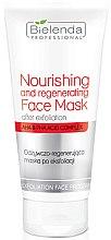 Духи, Парфюмерия, косметика Восстанавливающая питательная маска после эксфолиации - Bielenda Professional Exfoliation Face Program Nourishing And Regenerating Face Mask