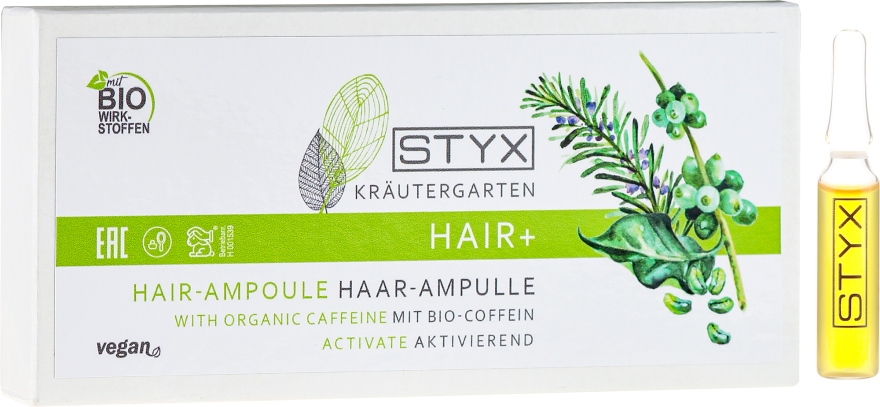 Ампулы для волос с био-кофеином - Styx Naturcosmetic Haar Balsam mit Melisse