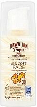 Духи, Парфюмерия, косметика Солнцезащитный лосьон для лица - Hawaiian Tropic Silk Hydration Air Soft Face Protective Sun Lotion SPF 30