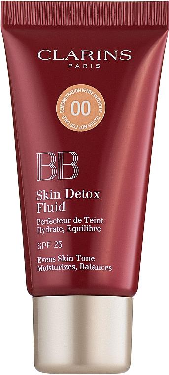 BB-флюид с эффектом детокса - Clarins BB Skin Detox Fluid SPF 25 (тестер)