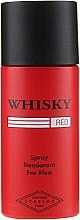 Духи, Парфюмерия, косметика Evaflor Whisky Red For Men - Дезодорант