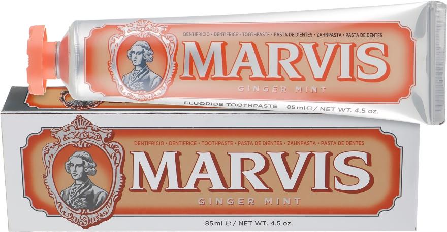 "Зубная паста ""Мята и имбирь"" с ксилитолом - Marvis Ginger Mint"