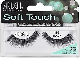Парфумерія, косметика Накладні вії - Ardell Soft Touch Eye Lashes Black 152