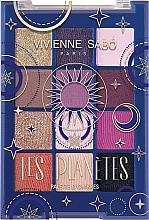 Духи, Парфюмерия, косметика Палетка теней для век - Vivienne Sabo Les Planetes Eyeshadow Palette