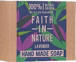 Духи, Парфюмерия, косметика Мыло для рук с лавандой - Faith In Nature Lavender Soap