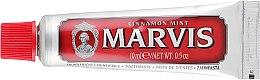 Духи, Парфюмерия, косметика Зубная паста - Marvis Cinnamon Mint (мини)