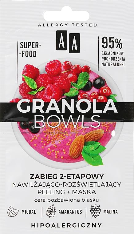 Пилинг-маска для тусклой кожи лица - AA Granola Bowls