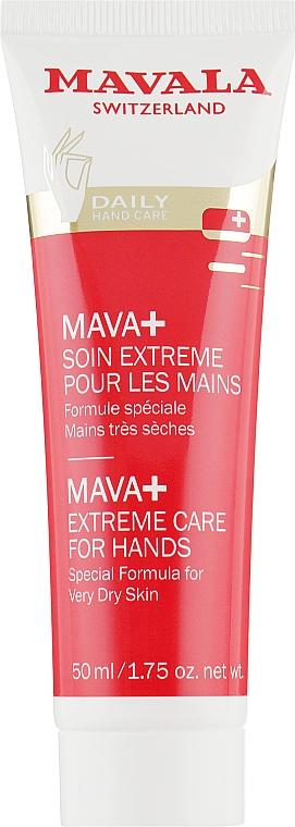Средство для нежного ухода за очень сухой кожей рук - Mavala Mava+ Extreme Care for Hands