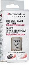 Духи, Парфюмерия, косметика Матовое покрытие для ногтей - Dermo Future Precision Top Coat Matt