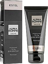 Парфумерія, косметика Прозорий гель для гоління - Estel Professional Alpha Homme Rasiergel