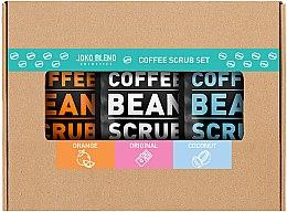 Духи, Парфюмерия, косметика Набор - Joko Blend Coffee Set (scrub/3x50g)