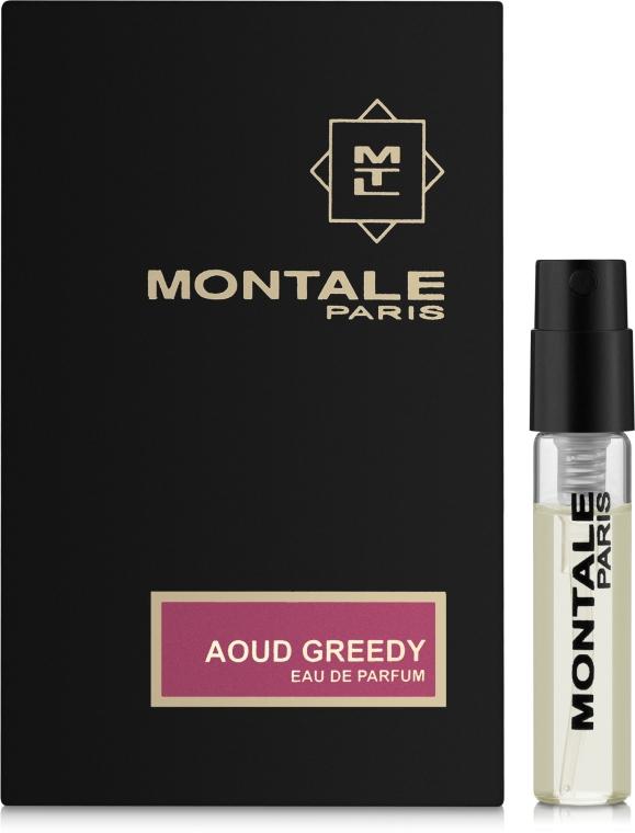Montale Aoud Greedy - Парфюмированная вода (пробник)