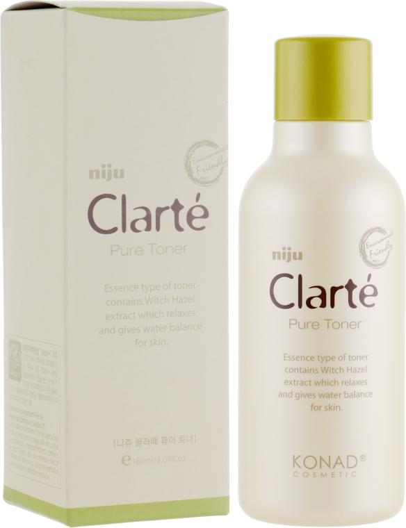 Тонер с экстрактом гамамелиса для баланса кожи - Konad Niju Clarte Pure Toner