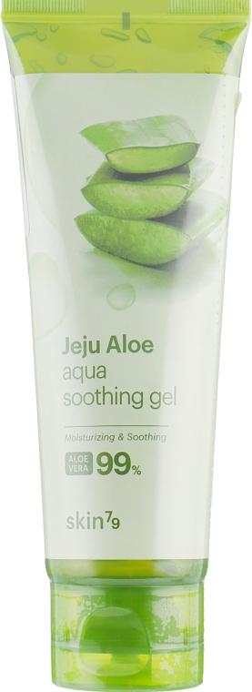Универсальный гель алоэ - Skin79 Jeju Aloe Aqua Soothing Gel