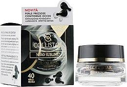 Духи, Парфюмерия, косметика Капсулы для кожи вокруг глаз - Collistar Nero Sublime Precious Pearls For Eye Contour
