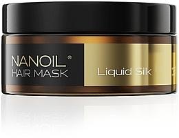 Духи, Парфюмерия, косметика Маска для волос с протеинами шелка - Nanoil Liquid Silk Hair Mask
