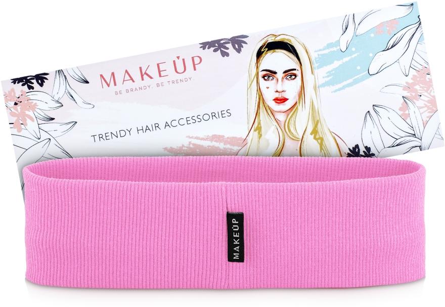 "Повязка на голову, розовая ""Be Beauty"" - Makeup"