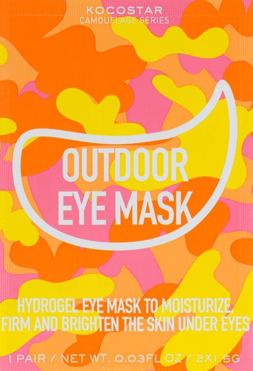 Гидрогелевые патчи для глаз на тканевой основе - Kocostar Camouflage Hydrogel Eye Mask