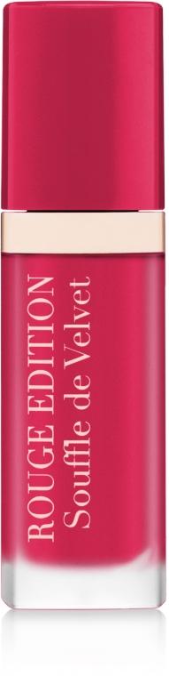 Жидкая матовая помада - Bourjois Rouge Edition Souffle de Velvet Lipstick