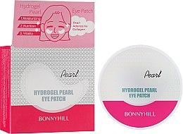 Духи, Парфюмерия, косметика Антивозрастные гидрогелевые патчи с жемчугом - Beauadd Bonnyhill Hydrogel Pearl Eye Patch