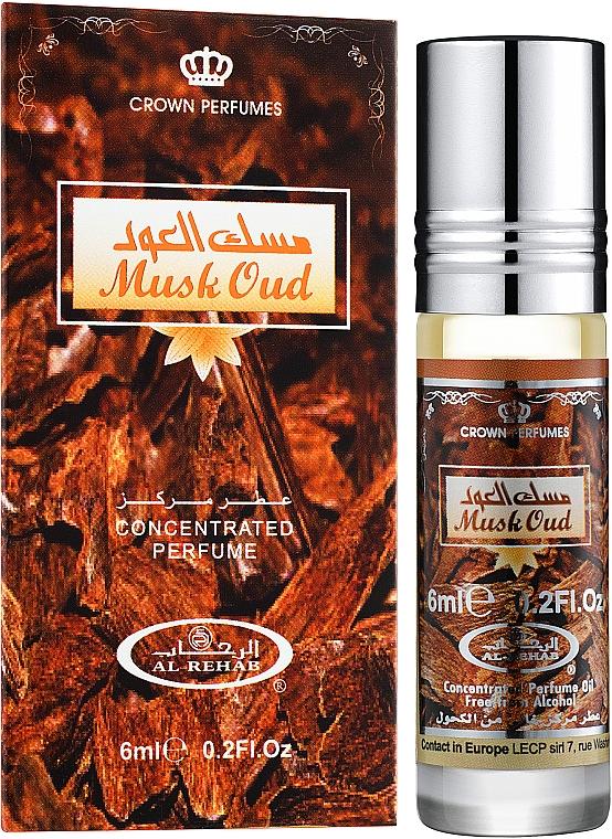 Al Rehab Musk Oud - Масляные духи