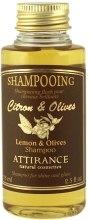"""Духи, Парфюмерия, косметика Шампунь """"Лимон и олива"""" - Attirance Anti-Dandruff Lemon and Olive Shampoo for Greasy Hair"""