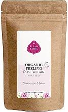 Духи, Парфюмерия, косметика Органический скраб для тела - Eliah Sahil Organic Peeling Rose Argan (запасной блок)