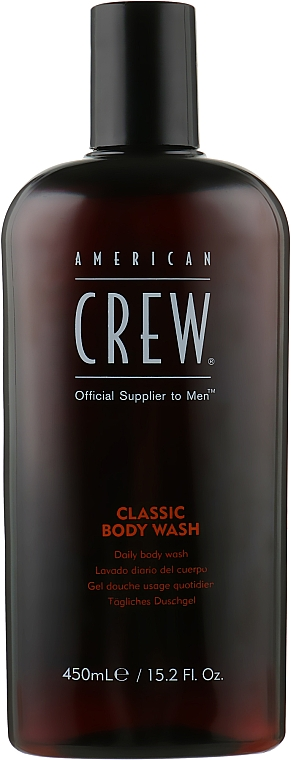Гель для душа классический - American Crew Classic Body Wash