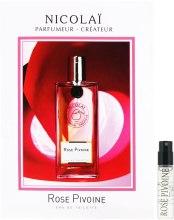 Духи, Парфюмерия, косметика Parfums de Nicolai Rose Pivoine - Туалетная вода (пробник)