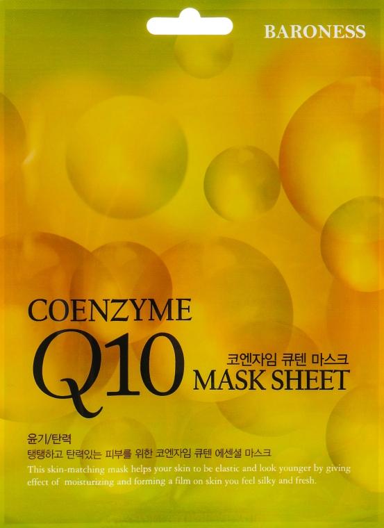 Тканевая маска антивозрастная - Beauadd Baroness Mask Sheet Q10