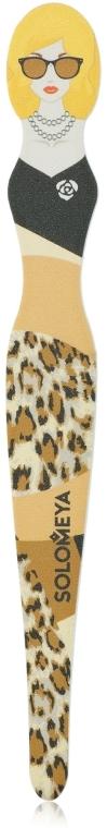 Пилка для натуральных и искусственных ногтей 180/220 - Solomeya Serena