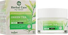 "Духи, Парфюмерия, косметика Нормализующий крем для лица ""Зеленый чай"" - Farmona Herbal Care Normalising Cream"