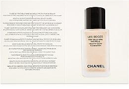 Тональный флюид - Chanel Les Beiges Healthy Glow Foundation Natural Beaute SPF 25 PA++ (пробник) — фото N2