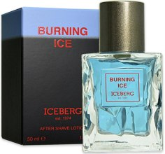 Духи, Парфюмерия, косметика Iceberg Burning Ice - Лосьон после бритья